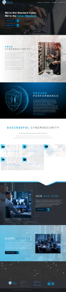 Secure Innovations After Website Photo